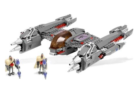 7673 лего звездные войны magna droid fighter